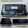 Apple - iPhone - 4G - batterie amovible