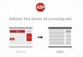 Logiciel - web - AdBlockPlus - extension antipub