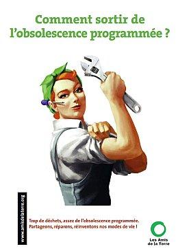 Obsolescence programmée - Les Amis de la Terre - Guide obsolescence programmée - couverture