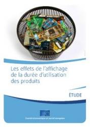 Label - CESE - affichage durée de vie - rapport - couverture - small