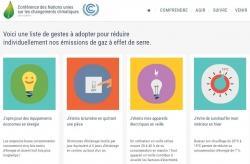 COP21 - site web - gestes clés - mise en veille