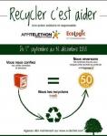 DEEE - Ecologic - Téléthon - affiche opération de collecte - 2015