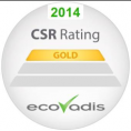 Acteur - Ecovadis - Label - Gold level - CSR - 2014