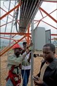 Ericsson - station relai - prévisions météo - Weather Info for All - afrique