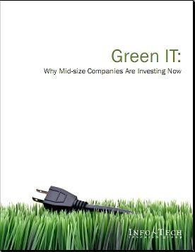 Etude - IBM - Infotech - Green IT - SMB / PME