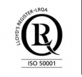 Logo - ISO 50001 - LRQA certification