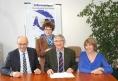 DEEE - Ecologic et Réseau des ressourceries - personnes signant l'accord - 520px