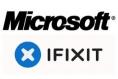 Logo - Microsoft + iFixit