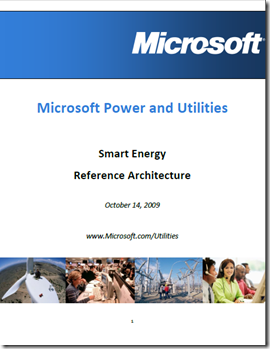Microsoft - Smart Energy Reference Architecture - best practices - cover