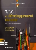 Livre - de boeck - T.I.C. et développement durable