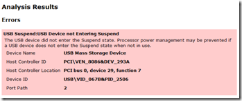 Microsoft - Windows 7 - Power Management diagnostic