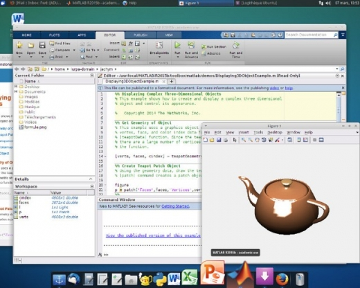 Logiciel - Linux - XUbuntu 14 LTS - capture d'écran