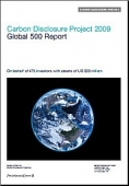 Carbon Disclausure Project - annual report - 2009