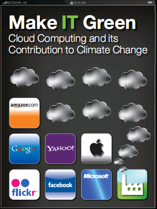 Greenpeace - Cloud Computing and its contribution to climate change