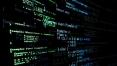 Logiciel - code - code source sur fond noir