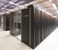 Data center - Cyrés - vue des baies refroidies par free cooling indirect