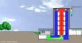 Datacenter - Celeste - plan bâtiment - free cooling - refroidissement par air extérieur