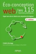 Livre - éco-conception web : les 115 bonnes pratiques - 2015 - Eyrolles - Frédéric Bordage - couverture