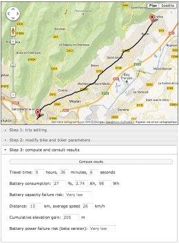 Vélo - Elektric Bike Range - capture d'écran - petite