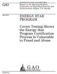 Energie - éco-label - Energy Star - rapport sur les fraudes