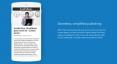 Logiciel - Google - AMP - bandeau bleu