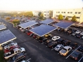 Google - solaire - parking - Solar Grove