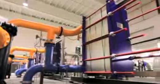 Google - data center - échangeru thermique eau de mer
