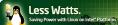 Logo - LessWatts.org - Intel - Linux