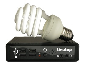Linutop - 2.0 - boîtier - ampoule