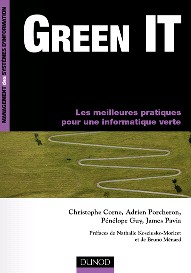 Livre - Dunod - Green IT : Les meilleures pratiques pour une informatique verte - dotgreen
