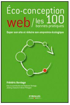 Livre - éco-conception web : les 100 bonnes pratiques - Eyrolles - couverture