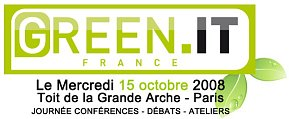 Logo - Green IT Forum 2008 - Evenement