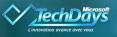 Logo - event - TechDays - Microsoft