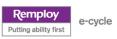 Logo - Remploy - entreprise d'insertion anglais, reconditionneur de matériel informatique