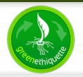 Logo - GreenEthiquette - data center - écolabel