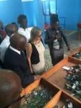 Orange - inauguration centre collecte téléphone d'Abidjan, Côte d'Ivoire