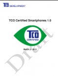 Ecolabel - TCO - TCO Certified Smartphones 1.0 - couverture