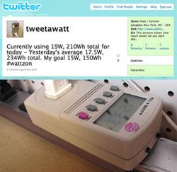 Tweet a Watt