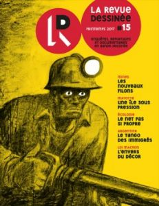La revue dessinée - n°15 - couverture