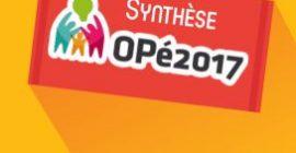 OPé2017 - synthèse - couverture