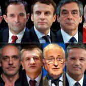 11 candidats élections 2017