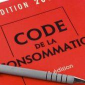 code de la consommation - couverture