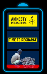 Amnesty International - Time to recharge - cover