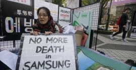Samsung - street - no more death