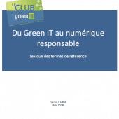 Club Green IT - lexique du Green IT au numérique responsable - couverture