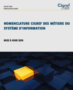 Cigref - nomenclature des métiers du numérique - 2018 - couverture