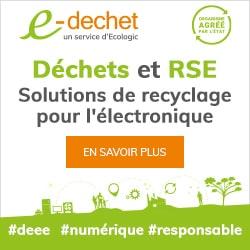 Recyclage de votre équipement électrique ? E-dechet.com